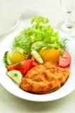 schnitzel λουκάνικο Στοκ Φωτογραφία