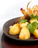 schnitzel свинины Стоковая Фотография