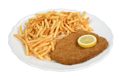 schnitzel Photo stock