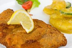 Schnitzel Royalty Free Stock Image