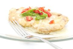Schnitzel with Butter Sauce Royalty Free Stock Photography