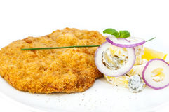 Schnitzel Stock Photo