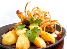schnitzel wieprzowiny Fotografia Royalty Free