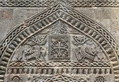 Schnitzen des dekorativen Steins Stockbilder