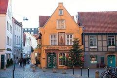 Schnoor district in Bremen, Germany Stock Image