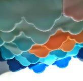 Schnur von Farben Lizenzfreie Stockbilder