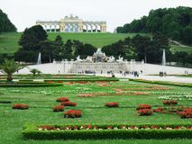 Schobrunn Stock Photo
