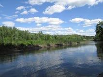 Schodack creek Royalty Free Stock Image