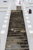 Schodek stara ściana Zdjęcia Stock