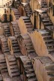 Schodki baori w India lub stepwell, Fotografia Stock