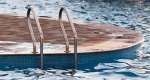 Schodki basen woda Fotografia Royalty Free