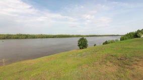 Schodki brzeg rzeka zbiory wideo