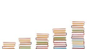 Schodki książki zdjęcia stock