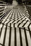 Schodki na podłodze, UCSD zdjęcie stock