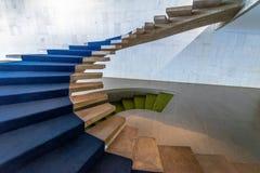 Schodki przy Wejściowym Hall Itamaraty pałac wnętrze - Brasilia, Distrito Federacyjny, Brazylia obrazy stock