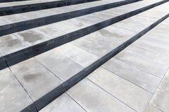 Schodki robić beton, zakończenie zdjęcie stock