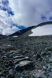 Schodki up wzgórza Fotografia Royalty Free