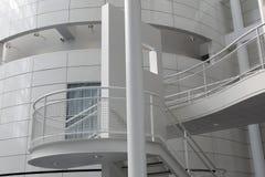 Schodki w białym budynku w Amsterdam Zdjęcia Stock