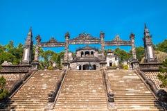 Schodki w Cesarskim Khai Dinh grobowu w odcieniu, Zdjęcie Stock