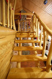 Schodki w drewnianym domu Fotografia Royalty Free