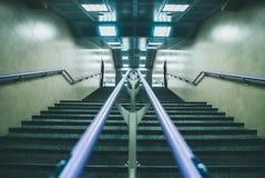 Schodki w staci metru Obraz Royalty Free