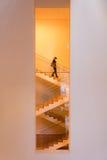 Schodowy sposób wśrodku MoMA Obrazy Stock
