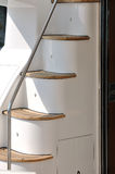 schodowy szczegółu jacht Zdjęcie Stock