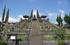 Schody bóg na górze Agung w Bali. Obraz Stock