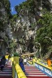 Schody Batu Jaskiniowa świątynia, Malezja Zdjęcia Royalty Free