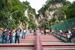 Schody Batu jaskiniowy wejście zdjęcia royalty free