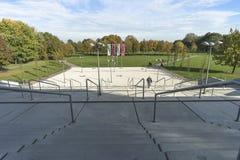 schody betonowe Zdjęcia Royalty Free