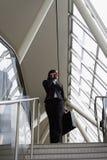 schody bizneswomanów pionowe Obraz Stock
