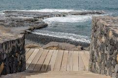 Schody boardwalk zdjęcie royalty free