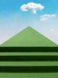 schody do nieba ilustracji