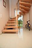 schody drewna Obrazy Stock