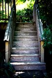 schody drewniane Zdjęcia Royalty Free