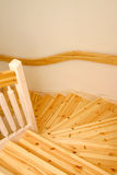 schody drewniany Obrazy Stock
