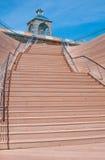 schody drewniany Zdjęcie Royalty Free