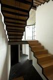 schody drewniany fotografia royalty free