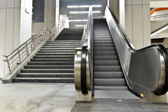 schody metro Zdjęcia Stock