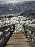 schody morskie Obrazy Stock