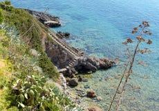 schody morskie Obraz Stock