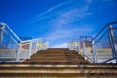 Schody niebo Fotografia Royalty Free