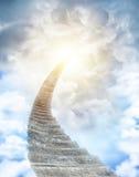 schody niebo Zdjęcia Stock