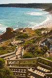 schody oceanu Obraz Royalty Free