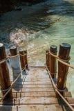 schody oceanu obrazy royalty free
