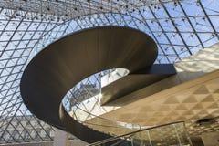Schody ostrosłup louvre, Paryż, Francja Zdjęcie Royalty Free
