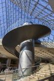 Schody ostrosłup louvre, Paryż, Francja Obrazy Royalty Free