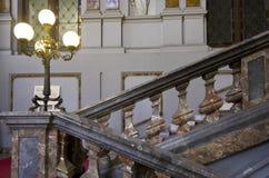 Schody Palazzo Arese Litta w Mediolan Obrazy Stock