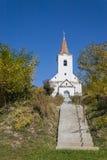 Schody stary kościół Obraz Royalty Free